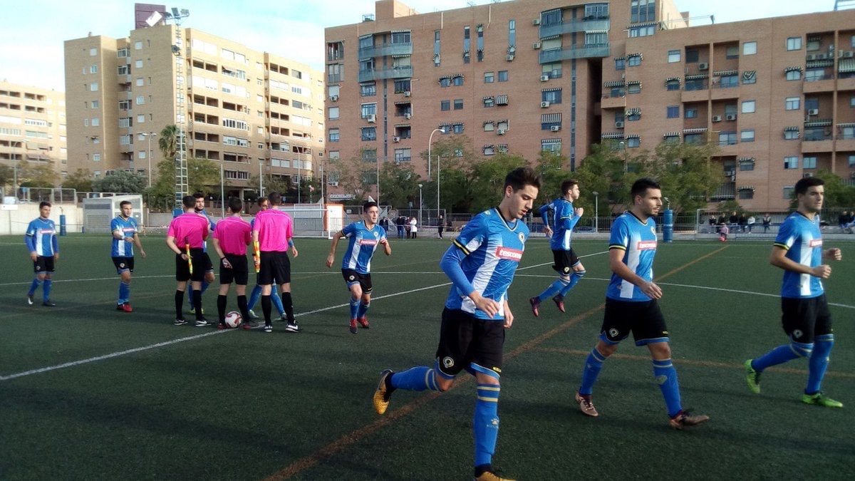 El filial salta al campo esta tarde (Fotos @cfhercules)