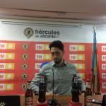 Paco Candela en sala de prensa