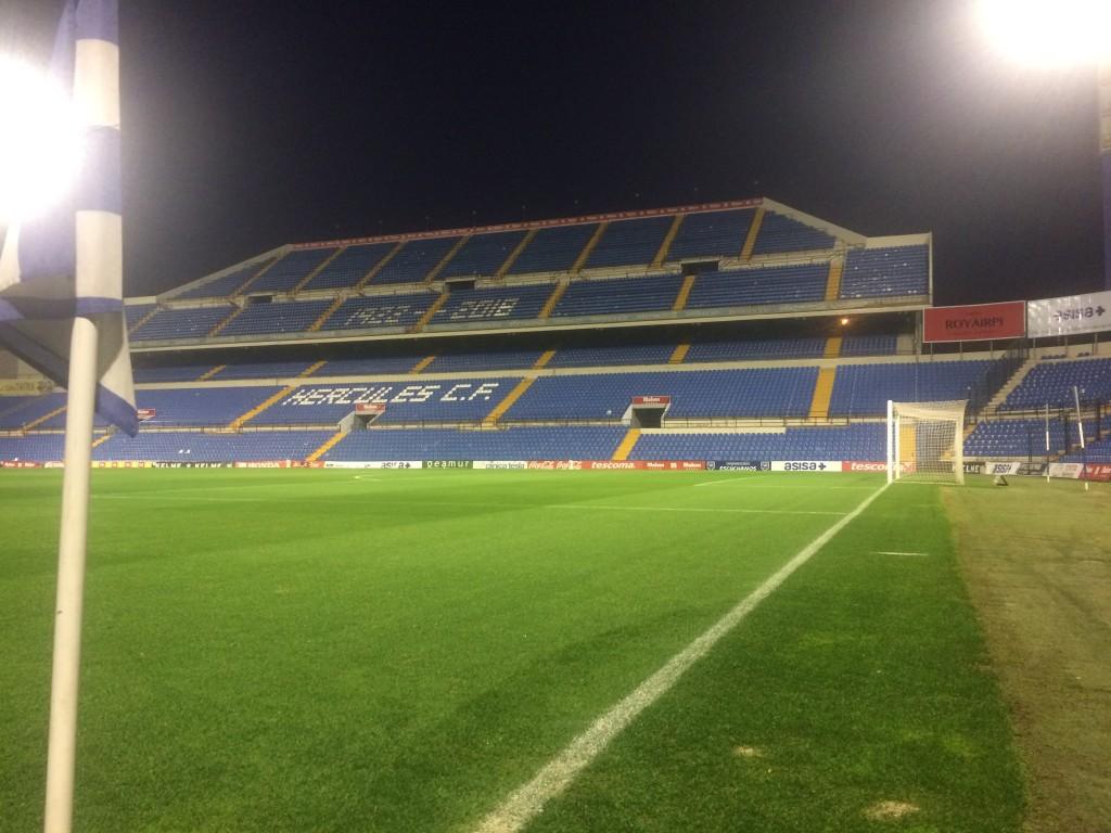 La Copa ante el Recreativo en Alicante