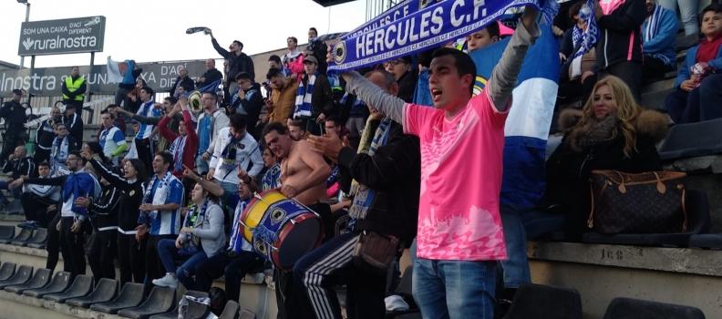 El Hércules enmudece Castalia