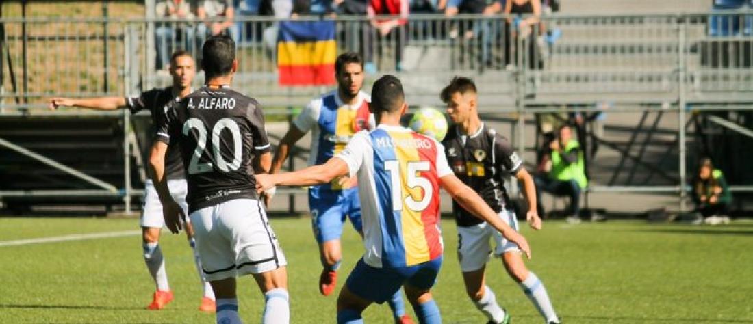 El Andorra oscurece la reacción