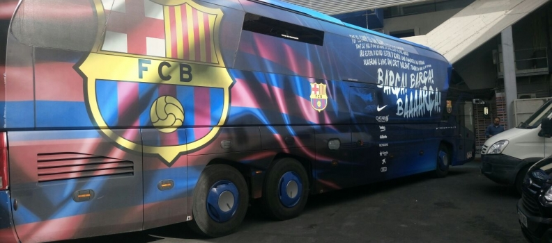 El Barça vela armas