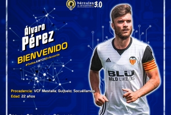 Álvaro Pérez, refuerzo Sub 23